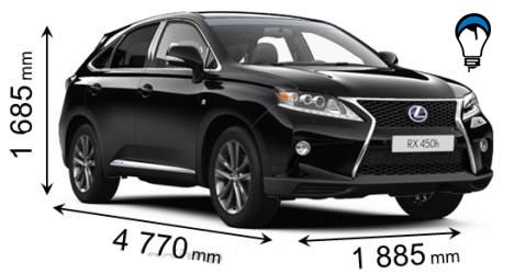 Lexus RX - 2012