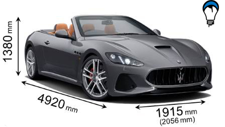 Maserati GRANCABRIO - 2018