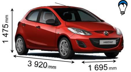 Mazda 2 - 2011