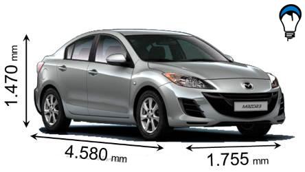 Mazda 3 SPORTSEDAN - 2012
