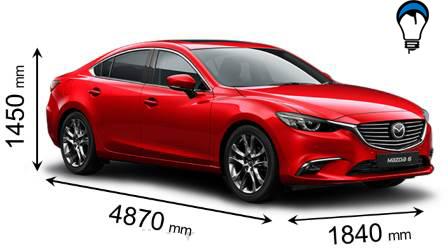 Mazda 6 - 2017