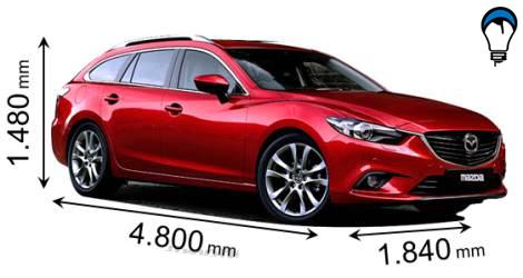 Mazda 6 WAGON - 2013