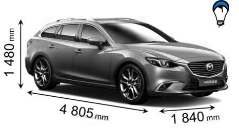 Mazda 6 WAGON - 2015