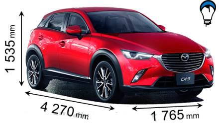 Mazda CX 3 - 2015
