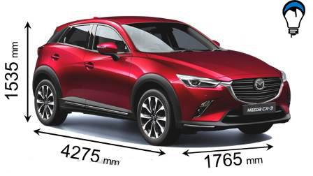 Mazda CX 3 - 2018