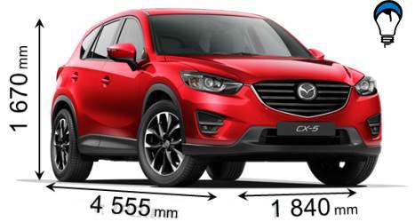 Mazda CX 5 - 2015