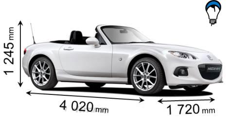 Mazda MX 5 - 2012