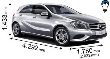 Mercedes benz A - 2012