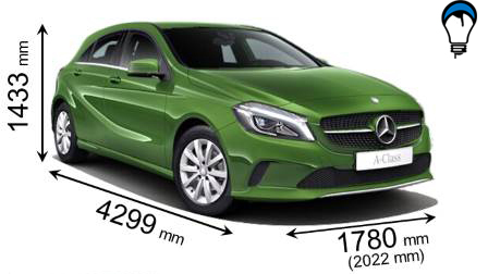 Mercedes benz A - 2016