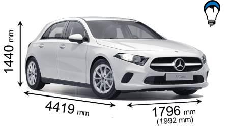 Mercedes benz A - 2018