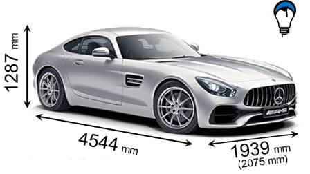 Mercedes benz AMG GT - 2017