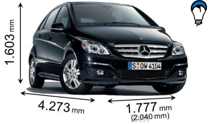 Mercedes benz B - 2008
