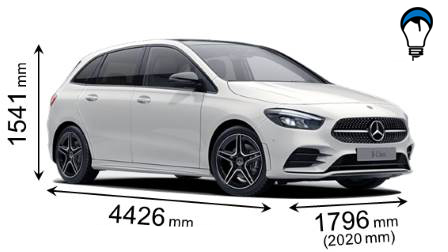 Mercedes benz B - 2019