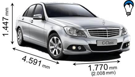Mercedes benz C - 2009