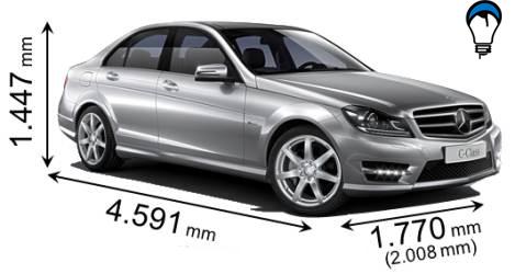 Mercedes benz C - 2011
