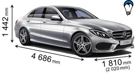 Mercedes benz C - 2014