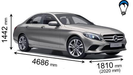 Mercedes benz C - 2018