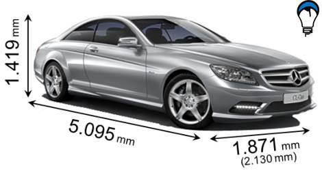 Mercedes benz CL - 2011