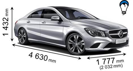 Mercedes benz CLA - 2013