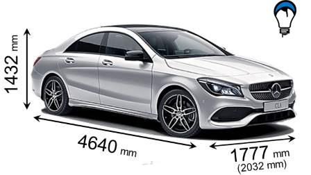 Mercedes benz CLA COUPE - 2016