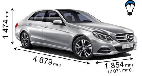 Mercedes benz E - 2013