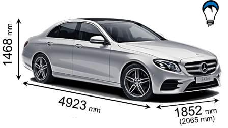 Mercedes benz E - 2016