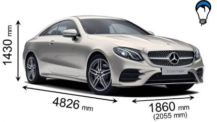Mercedes benz E COUPE - 2017
