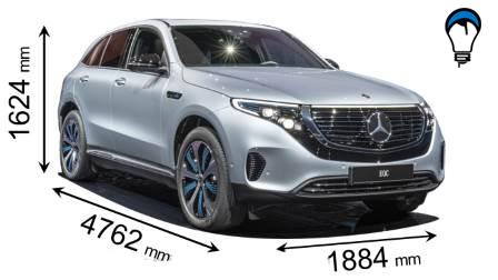 Mercedes benz EQC - 2019