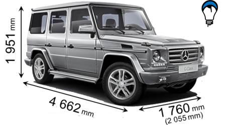 Mercedes benz G - 2012