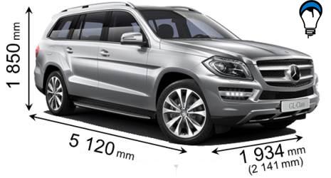 Mercedes benz GL - 2012