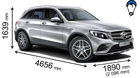 Mercedes benz GLC SUV - 2015