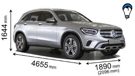 Mercedes benz GLC SUV - 2019