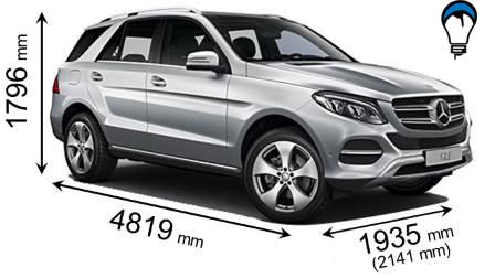 Mercedes benz GLE SUV - 2015