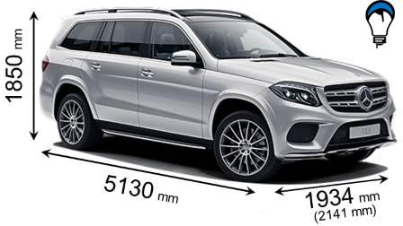 Mercedes benz GLS - 2016