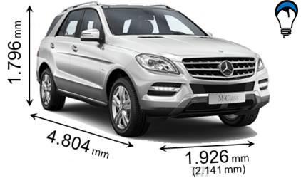 Mercedes benz M - 2012