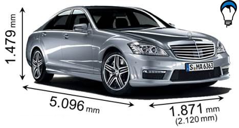 Mercedes benz S - 2009