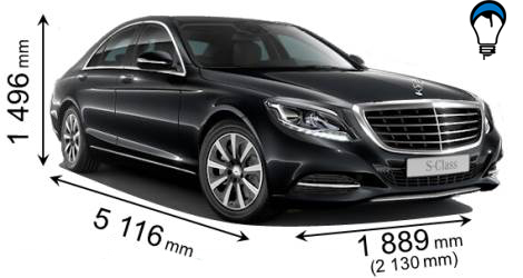 Mercedes benz S - 2013