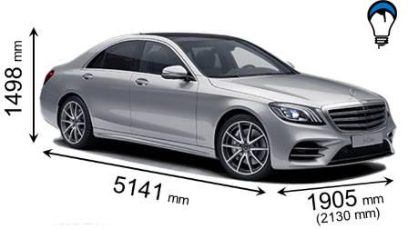 Mercedes benz S - 2017