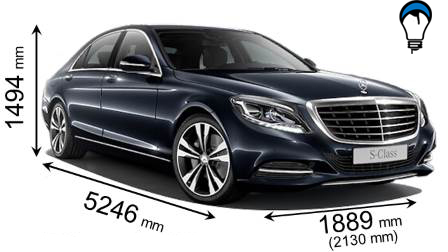 Mercedes benz S LONG - 2013