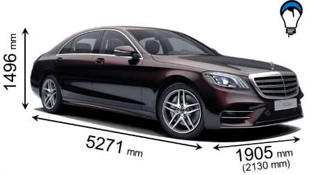Mercedes benz S LONG - 2017
