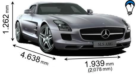 Mercedes benz SLS AMG - 2010