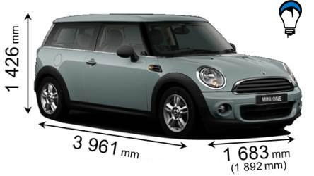 Mini CLUBMAN - 2010
