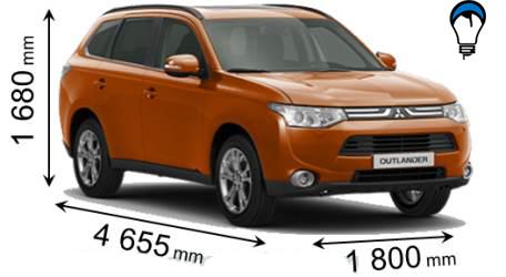 Mitsubishi OUTLANDER - 2012