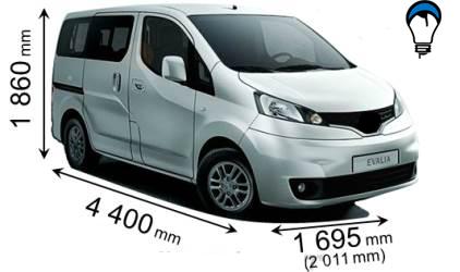 Nissan EVALIA - 2012
