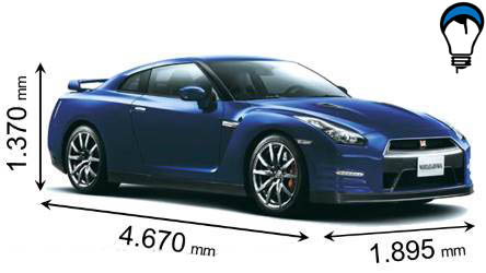 Nissan GT R - 2012