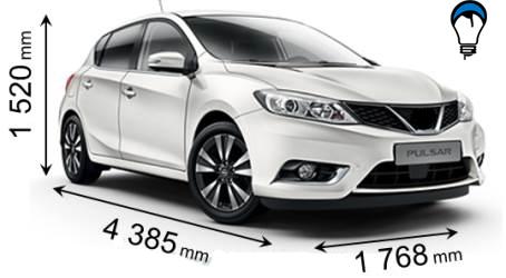 Nissan PULSAR - 2015
