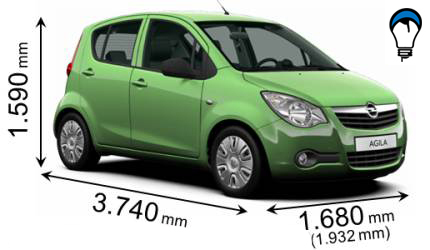 Opel AGILA - 2010