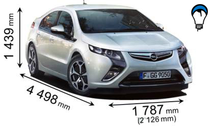Opel AMPERA - 2012