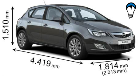 Opel ASTRA - 2010