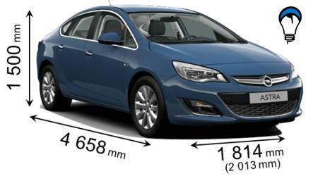 Opel ASTRA SEDAN - 2012